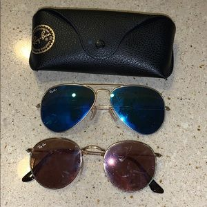 Two Pairs of Ray Bans